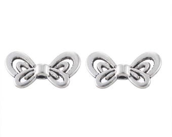 50 beads spacer hollow Butterfly accessory 17.5x9mm