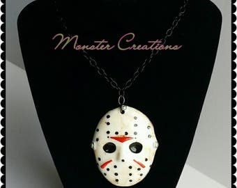 Jason Voorhees mask Necklace