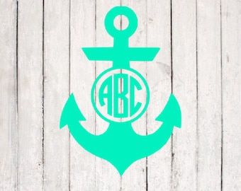 Anchor SVG | Anchor Cut File | Silhouette Files | Cricut Files | SVG Cut Files | PNG Files