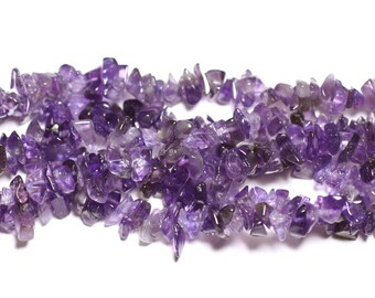 150pc-stone Amethyst Chips 5-10mm - 4558550036254 seed beads