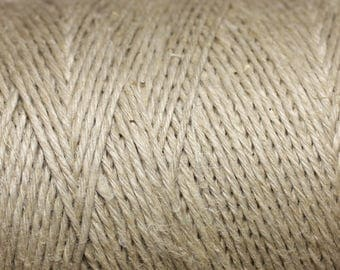 10 m - 1 mm Ecru 4558550002167 hemp yarn