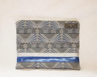 Sky blue pouch