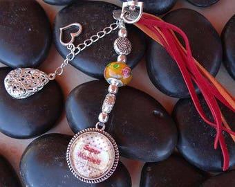 "Jewelry bag keychain ""great Grandma"""
