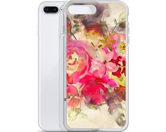 iPhone Case Floral Watercolor, bohemian iphone case, Hipster iphone case