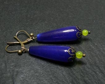 Cleopatra blue earring