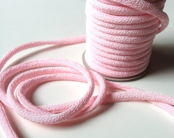 Japanese cord 3mm, Chirimen, pink (C3310-3)