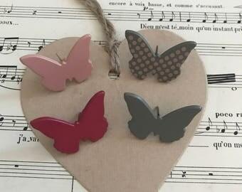 1 - Set screw butterflies