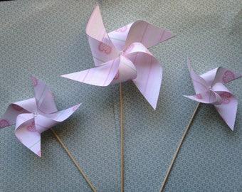 Nr. 3 pink pinwheels