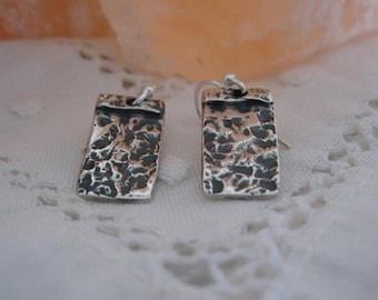 Handcrafted  Fine Silver Earrings...