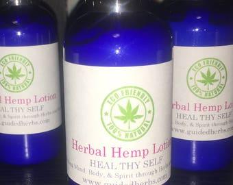 Herbal Hemp Lotion