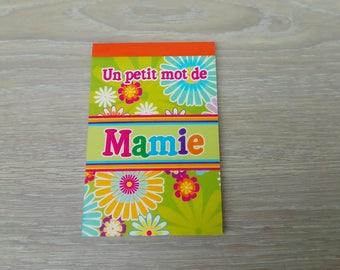 Personalized name Grandma gift book