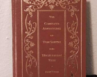 The Complete Adventures Of Tom Sawyer And Huckleberry Finn - Mark Twain