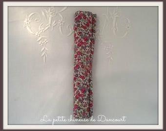 Coupon fabrics Frou Frou floral pink