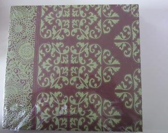 très joli Album photos style oriental - à customiser ou non - 24 cm x 22,5 cm