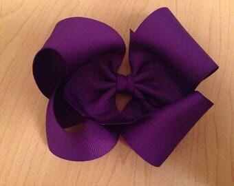Royal Purple Bow