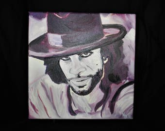 Original Prince Oil Painting: Sometimes it Snows in April
