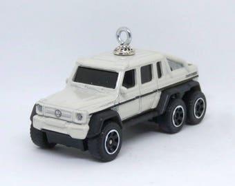 Mercedes benz truck etsy for Mercedes benz christmas ornament