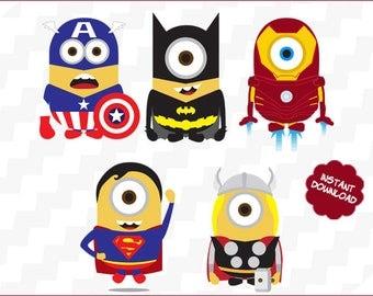 Minion superhero etsy minions superhero svg minions superhero vector minions superhero clipart minions superhero cutting files stopboris Images