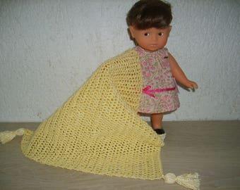 Blanket for doll mini Richard