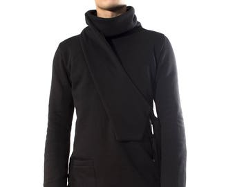 Sweater Ninja black man Turtleneck
