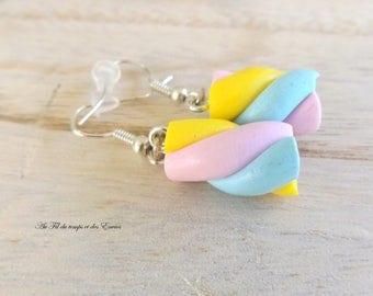 Chamallow Handmade Earrings * CUSTOMIZABLE *