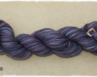 100% wool dyed by hand, no heavy metals.