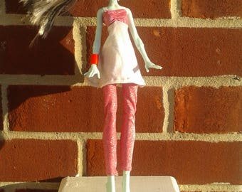 Pink Monster High Outfit