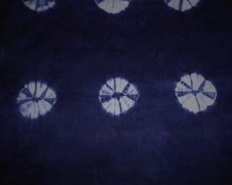 FABRIC INDIGO dyed hands 65 cm x 87 cm