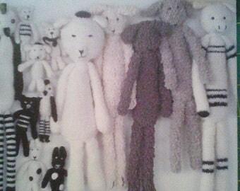 "Book ""toys to create crochet long legs"""