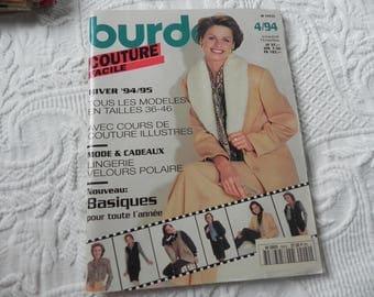 BURDA sewing easy November 1994 magazine