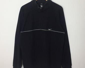 RARE!! Nike Golf Big Logo Embroidery Sweatshirt Jumper Pullover Sweater Hoodies
