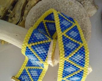 miyuki Delica Beads Bracelet peyote stitch