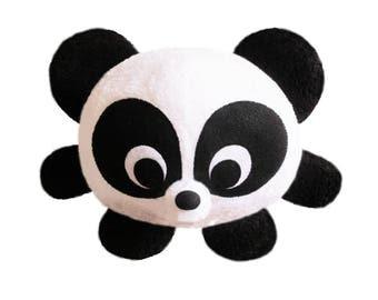 Handmade round panda plush