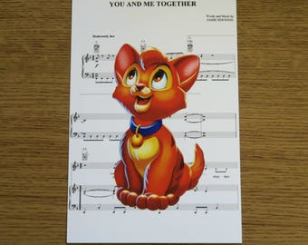 Oliver and Company 6x4 Print