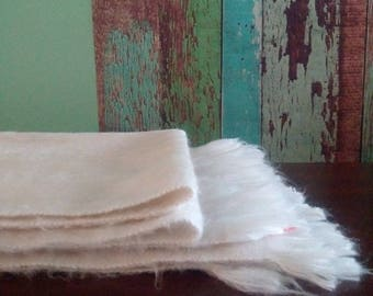 100% very soft colors ALPACA shawl.