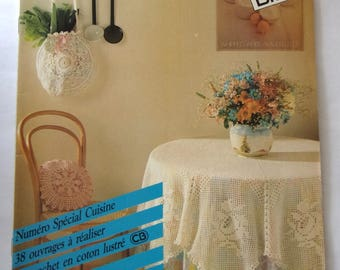Creative book - crochet - number special kitchen REF. 7 - 38 books