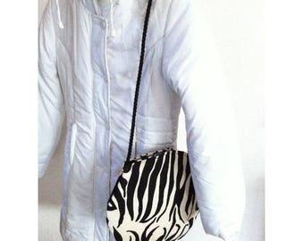 Round Zebra by BAGART shoulder bag