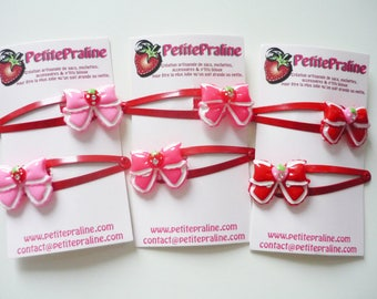 Cute Bow Hair clips barrettes - Choose your color