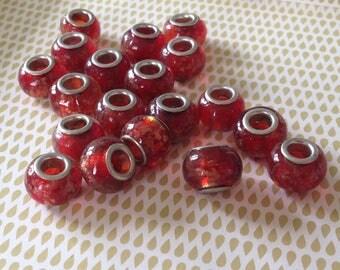 1 PCs - glass of Murano / Lampwork European beads hand - made 1pce