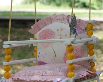 Wooden Handmade Swing, Baby Swing, Todler swing