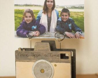 Vintage camera Photo holder