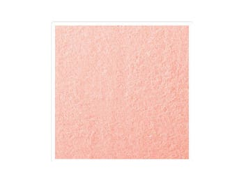 A cut of 1 meter of salmon color Terry cloth