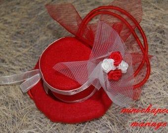 """lolita"" wedding Hat"