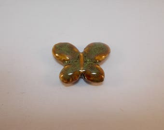 beautiful ceramic Butterfly bead