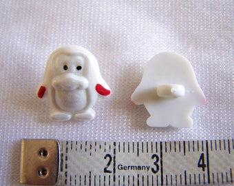 Fancy button, child, Penguin (Bo-2000) pattern