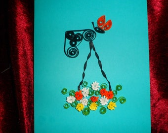 birth of spring card