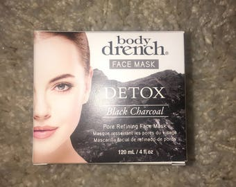 Charcoal Body Drench Face Mask
