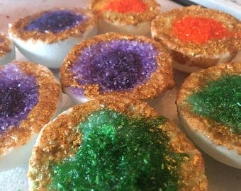 Geode bath bombs!