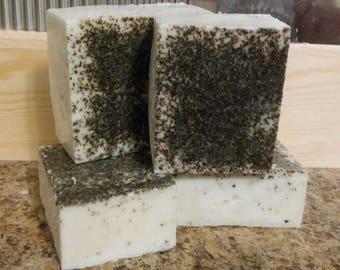 Goat Milk Eucalyptus Green Tea Soap - All Natural Soap, Handmade Soap, Homemade Soap, Handcrafted Soap