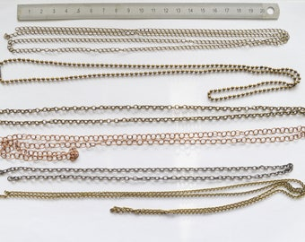 Set of various chains